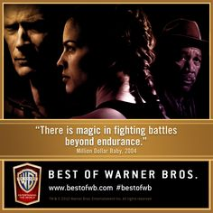 Frankie Dunn teaches his boxers his rule of life: always protect yourself. Celebrate the Best of Warner Bros. with timeless classics like Million Dollar Baby in our Best Pictures Film Collection! #BestofWB #WarnerBros #BestPictures #HilarySwank #ClintEastwood