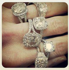 #Cushioncut #diamond #engagementrings on #traditionaljewelers #instagram