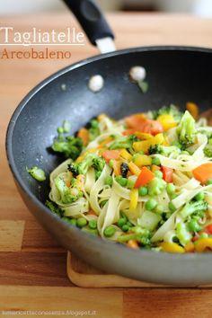 tagliatelle alle verdure