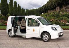 Novo Papamóvel de Bento XVI é um Renault Kangoo elétrico