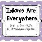 Idioms Practice Freebie
