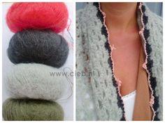 Haken en meer: Patroon beschrijving omslagdoek-sjaal