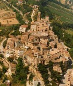 """Campofilone, Le Marche - Italy. Famous are """"Maccheroncini"""" di Campofilone, its typical egg pasta."""