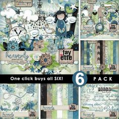 Heavenly 6-Pack PLUS FWP by Fayette Designs