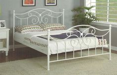Furnish.com.au - Venus Bed, Metal, White, $249.00 (http://www.furnish.com.au/venus-metal-bed-in-white/)