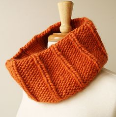 Wool Knit Neckwarmer