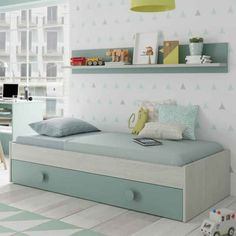 Daybed With Trundle, Bench, Loft, Storage, Color, Furniture, Marti, Home Decor, Google