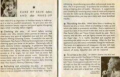 Max Factor - Livrets - Le Nouvel Art du Maquillage avec les Stars d'Hollywood - 1937