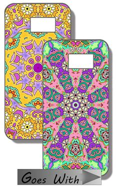 CELLPHONE FASHION - For Samsung Galaxy S6 - Clear Soft Cover with Six Different Original Mandala Designs - SET 11