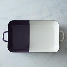 Rectangular Enamel Baking Dish