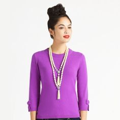 kate spade tassel necklace: obsessed. in love. desparately need.