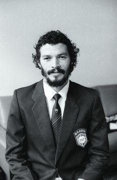 Socrates, early 1980s. #calcio #sport #storia