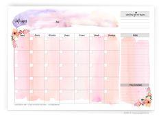 PLANIFICADORES IMPRIMIBLES ¡GRATIS! (SEMANAL+MENSUAL) ¡Organiza tus semanas con nuestros planificadores gratuitos! #happypaperie #happyplanners #happyplanning
