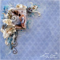 Mary's Crafty Moments: ''Treasure the Moment'' - DT Layout for Maja Desig...