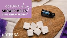 DIY Shower Melts using doTERRA Breathe® Doterra Blog, Doterra Essential Oils, Lemon Essential Oils, Essential Oil Uses, Essential Oils For Breathing, Peppermint Plants, Doterra Breathe, Diy Shower, Fractionated Coconut Oil