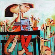 Manyung Gallery Group Janine Daddo Kiss