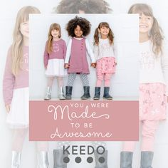Keedo, a trusted and proudly South African brand, blends imagination, comfort and style to create functional and fashionable designer clothes for kids worldwide. Get The Look, Baby Kids, Kids Outfits, African, Shopping, Design, Style, Fashion, Swag