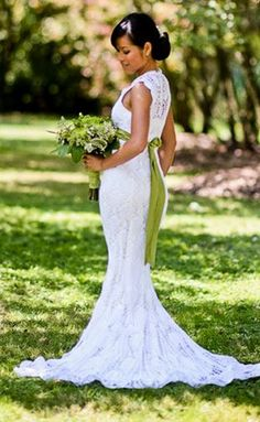 Gorgeous wedding dress found in annies craft store crochet ravelry chrysanthemum gown train addition pattern by chi krneta junglespirit Gallery