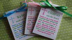 Baptism Christening Religious First Holy Communion Favors by SuLuGifts