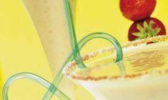 Receta de Batido de verano con fresas y yogur