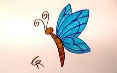 butterfly drawing cartoon easy draw butterflies drawings things sketch spring disney kaynak getdrawings clipartmag paintingvalley play learn