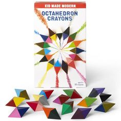 8ba0f50bc2232e Octahedron Crayons (Set of 15) | Kid Made Modern Kids Craft Supplies, Craft