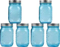 Anniversary Ball Mason Jars - set of 6 $17.95