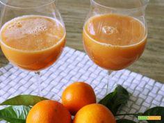 Drink rinfrescante mango e arancia  #ricette #food #recipes