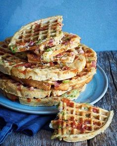 Waffle Recipes, Baby Food Recipes, Wine Recipes, Cooking Recipes, Food Baby, Food Porn, Norwegian Food, Good Food, Yummy Food