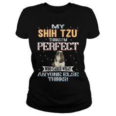 My SHIH TZU Thinks Im Perfect