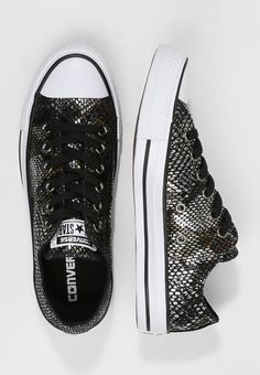 226ab1171c9e CHUCK TAYLOR ALL STAR FASHION SNAKE - Sneaker low - black white    Zalando.de 🛒