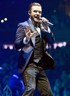 Justin Timberlake wore a dapper tux as he crooned at Madison Square Garden for his 20/20 Experience tour
