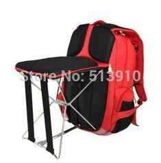 Стул для рыбалки на открытом воздухе портативная раскладной стул рюкзак / портативная на открытом воздухе раскладной стул для рыбалки рюкзак купить на AliExpress