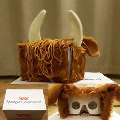 Moogle Cowboard went down well. #secretsanta #cowboard #moogle #VR #makingstuff #comfy