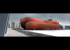 Design Museum Holon By Ron Arad Architects – render 01 | Designalmic
