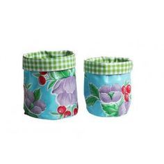 Ben Elke products are made from Mexican Oilcloth, a highly durable, double PVC coated fabric that's easy to wipe clean