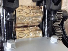 Sehr seltene alte antike Bonbonwalzen für Bonbonmaschine. Messing um 1900 | eBay
