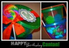 Simply Creative Insanity: Bounce Party - Favors on a budget!