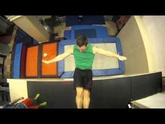 Someone needs to help me. I can't stop watching this video because it's so awesome. New Extreme Sport: Trampoline Wall, Christophe Hamel Demo 2012. (Ignore the music, this guy is incredible. The last part is my favorite!)