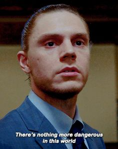 ... than a humiliated man, says Kai Anderson in AHS Cult! Follow rickysturn/evan-peters