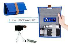 Or this... The Photojojo Phone Lens Series