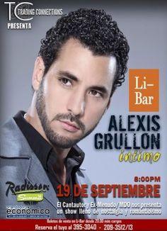 Alexis Grullon en Panamá en Que hacer hoy Panama Bar, Boy Bands