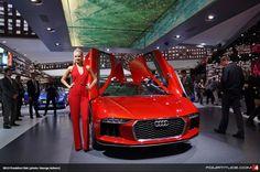 Audi nanuk quattro concept at 2013 Frankfurt IAA