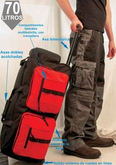 Bolsa de viaje Multi-Pocket Camper Van, Vans, Backpacks, Ideas, Fashion, Zippers, Traveling, Bags, Work Clothes