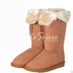 Bottes Fourrées-BGG neige bottes classiques élégantes bottes sexy