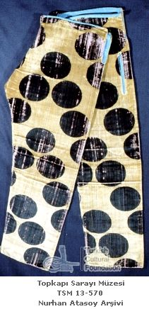 """""""Making Ottoman Shalvar Trousers"""", a blog post with many examples of Ottoman-era trousers from the Topkapi Palace museum, sadly undated. But some clearly show construction seams!"""