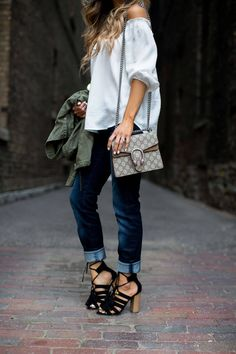 fashion blogger mia mia mine in tassel lace-up heels from new york & company