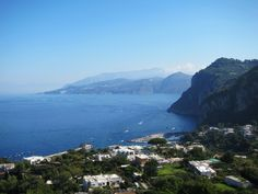 THE view, from Anacapri