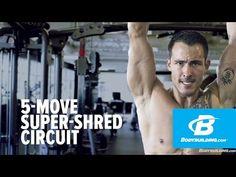 Sean Sarantos' Full-Body 5-Move Super-Shred Circuit - Bodybuilding.com