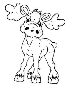 Turning Leaves 2012 - Walter The Moose Colouring Pages, Adult Coloring Pages, Coloring Books, Christmas Colors, Christmas Art, Illustration Noel, Christmas Drawing, Christmas Coloring Pages, Christmas Embroidery